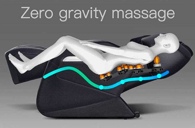 an illustration of zero gravity massage