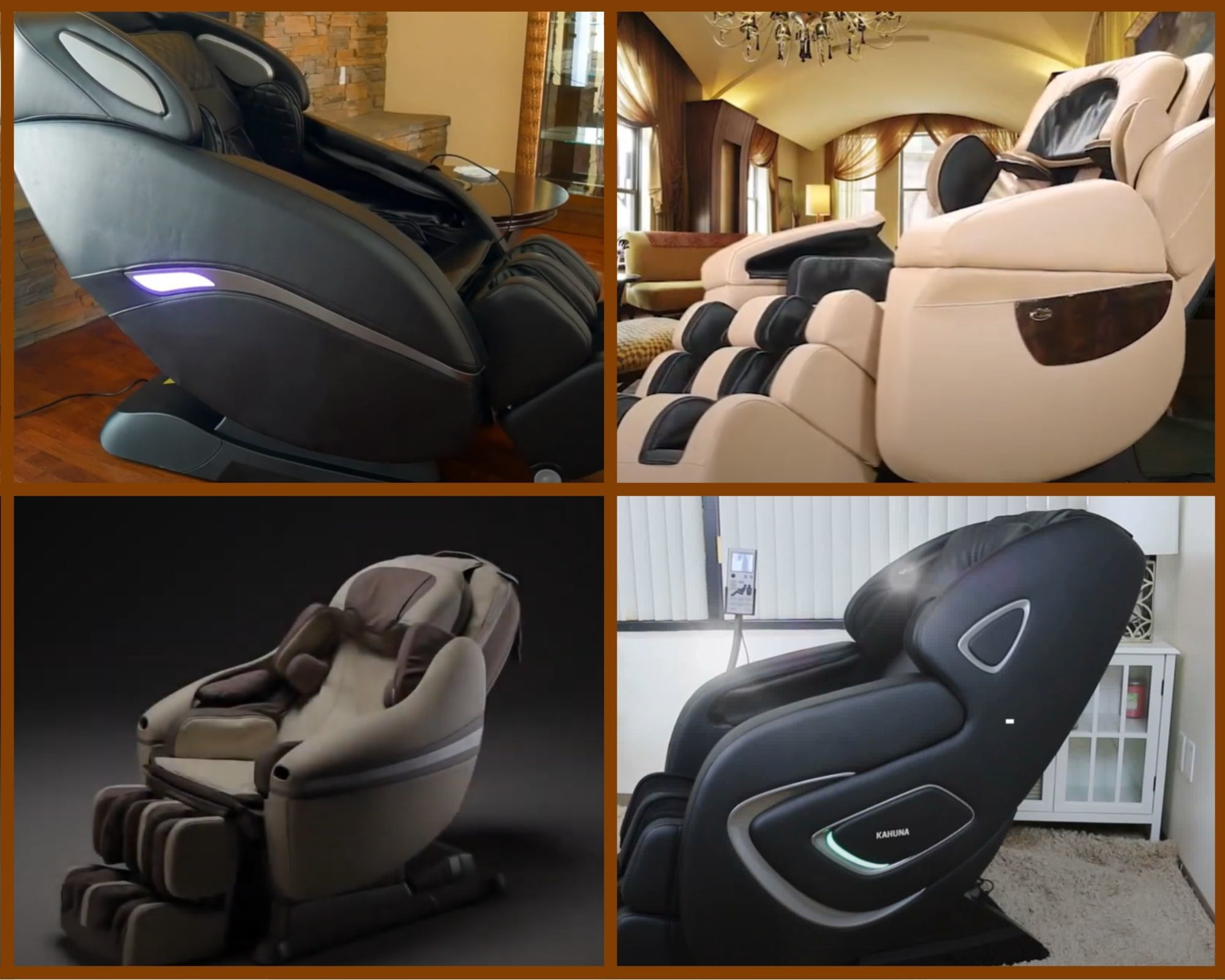 top of luxury massage chairs