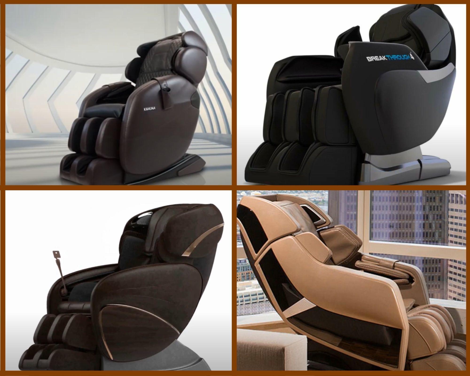 Fullbody types Massage Chairs