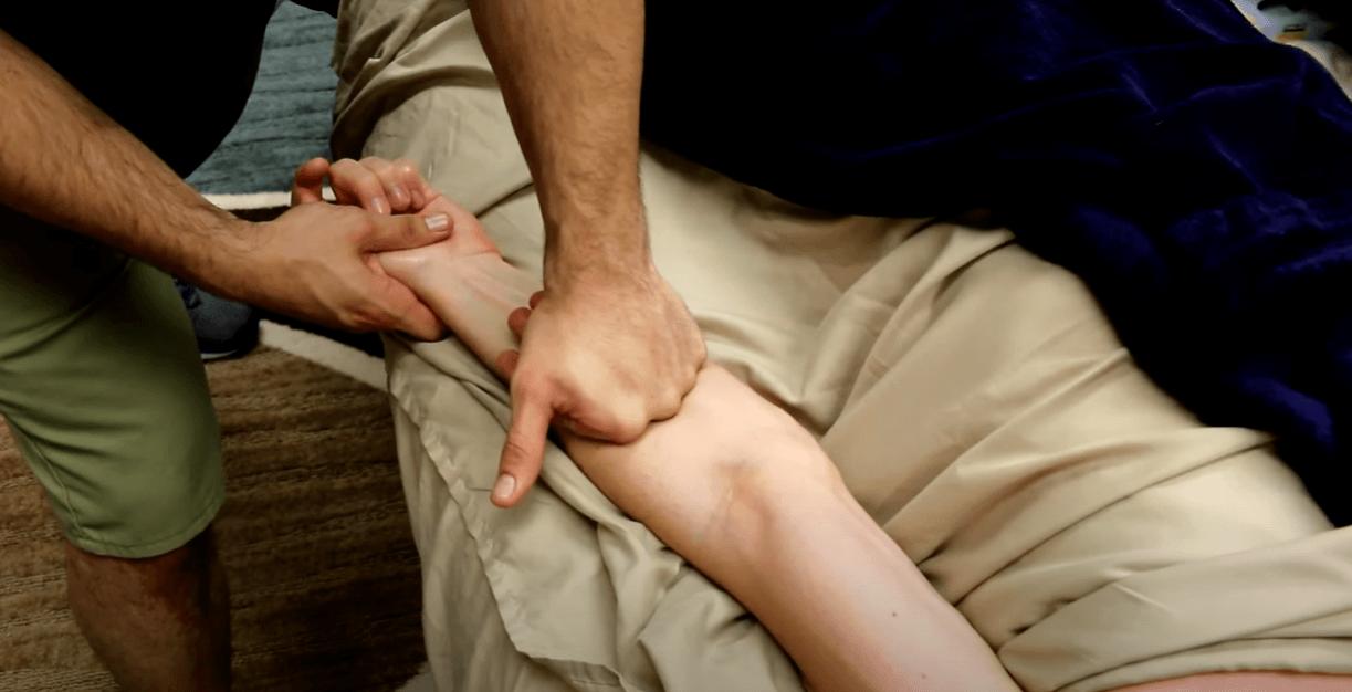 deep tissue massage for relaxing