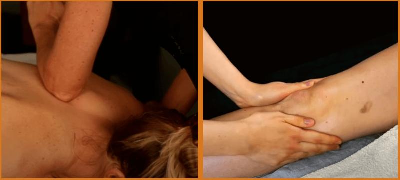 Swedish and deep tissue massage comparison