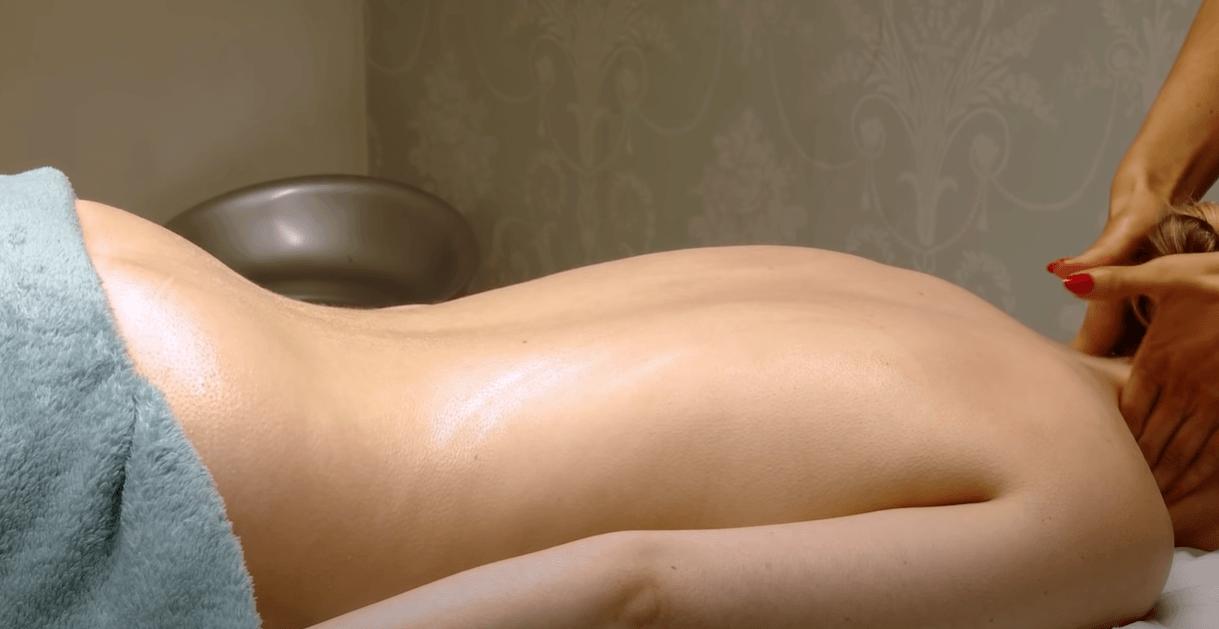 swedish massage for woman