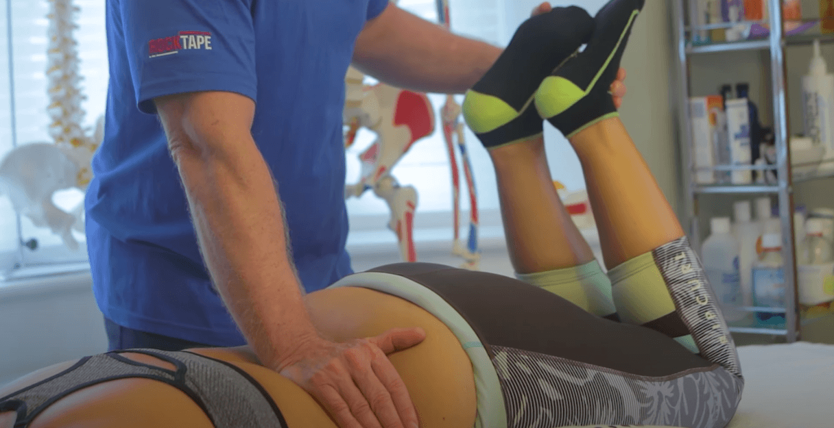 Leg massage treatment