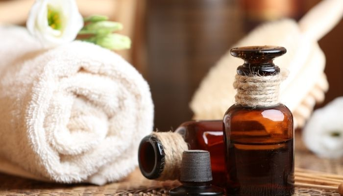 Essential oils for bath