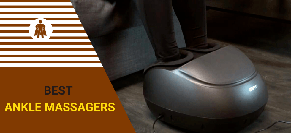 Ankle massager to ease pain