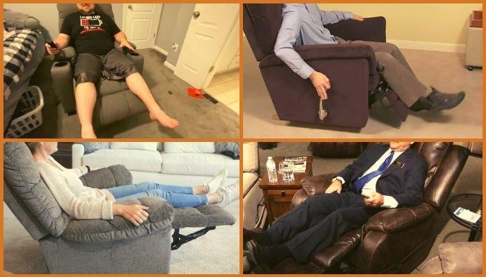 best sitting position for leg circulation
